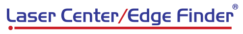 Laser Center/Edge Finder Retina Logo